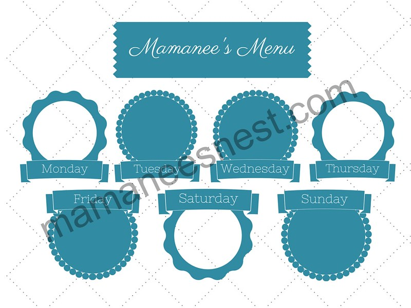 Mamanee's Menu post