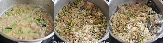How to make Soya Chunks Pulao - Step6