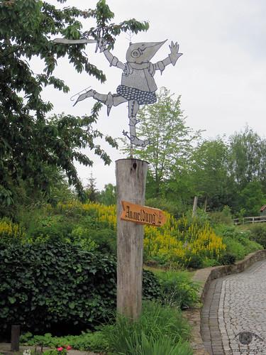 Eingang zum Rittergut