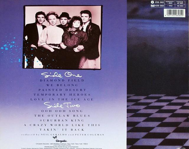 "PAT BENATAR TROPICO 12"" LP VINYL"