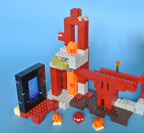 Review - 21122 LEGO Minecraft:The Nether Fortress από BRICKSET 19786854771_6432a2aa89
