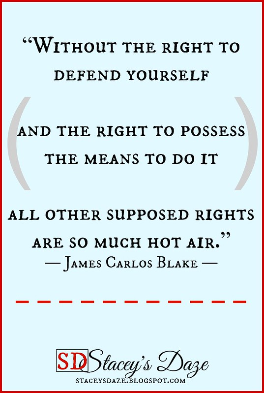 Right to defend yourself