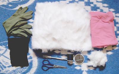Tự làm găng tay mèo xinh đón mùa Đông về