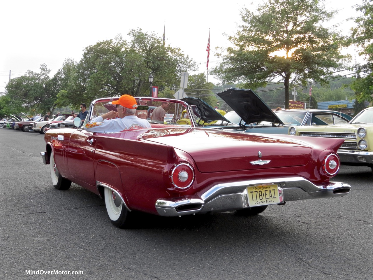 1957 Ford Thunderbird Rear