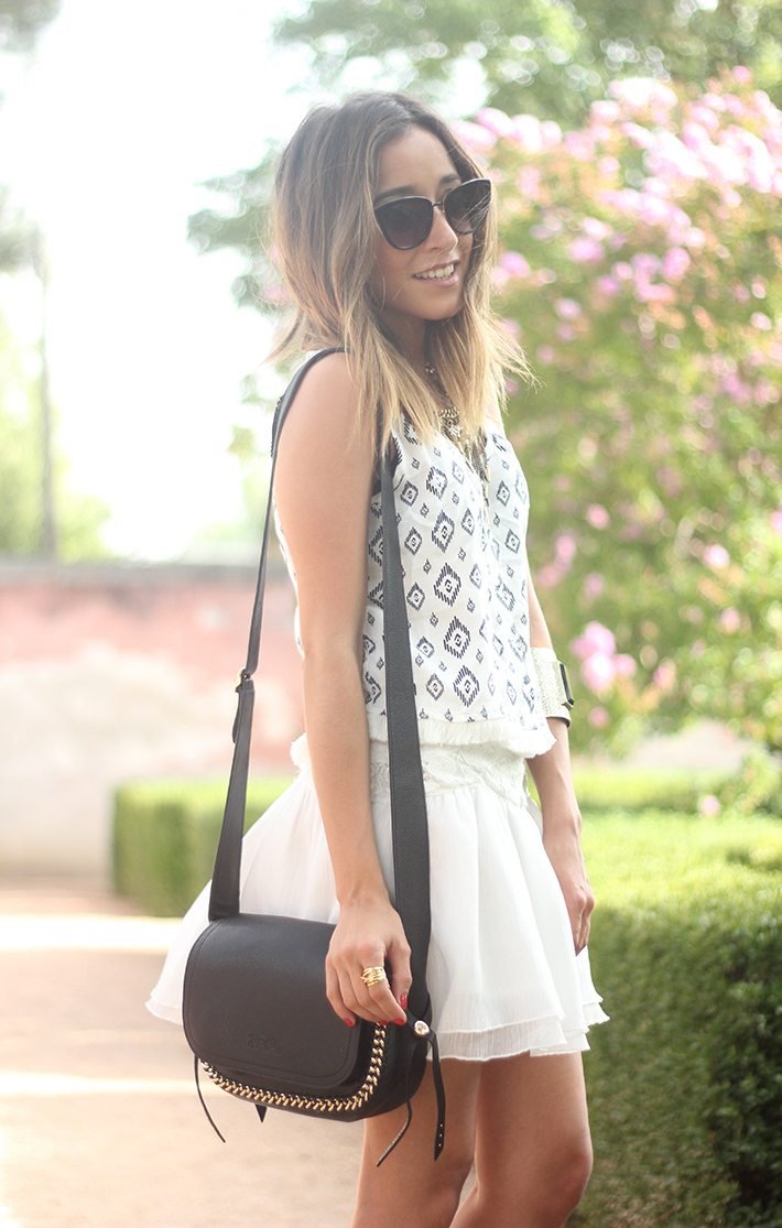 Black & White Summer Outfit Mango09