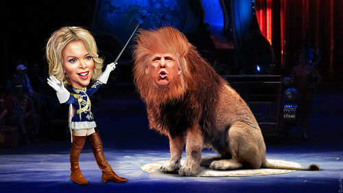 Megyn Kelly Attempts To Tame A Wild Beast