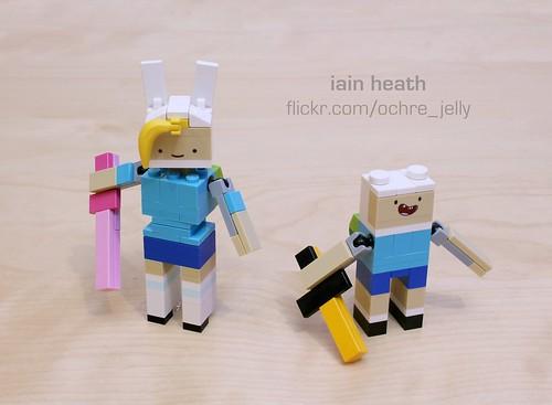 Adventure Time custom: Fionna the Human