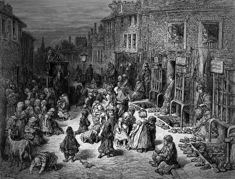 London Slums