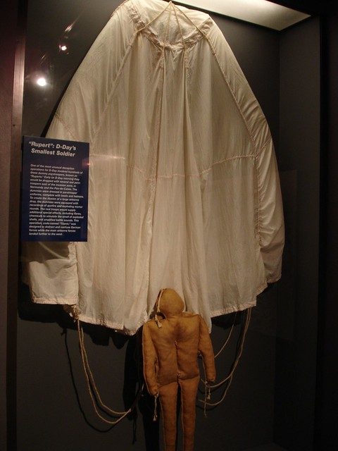 """Rupert"" Dummy Paratrooper, National D-Day Museum, New Orleans LA"