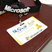 Mashup Camp Badge, brought to you by MSFT