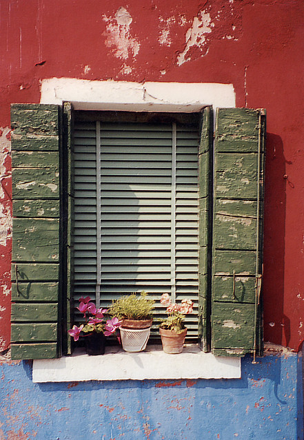 Burano Window