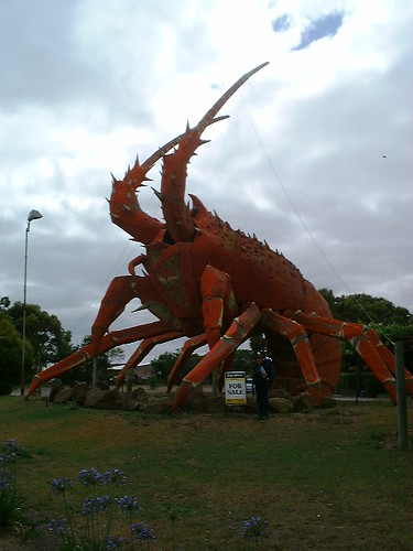 Big Lobster @ Kingston SE, Australia