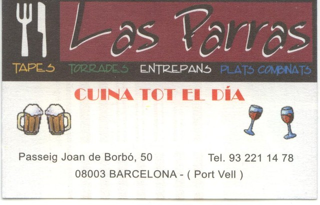Las Parras Business Card Front