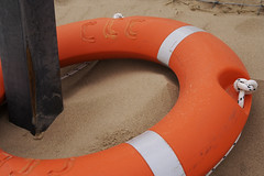 wheel(0.0), red(0.0), games(0.0), orange(1.0), personal flotation device(1.0), lifebuoy(1.0), circle(1.0), inflatable(1.0),