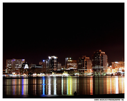 Halifax City Night Lights