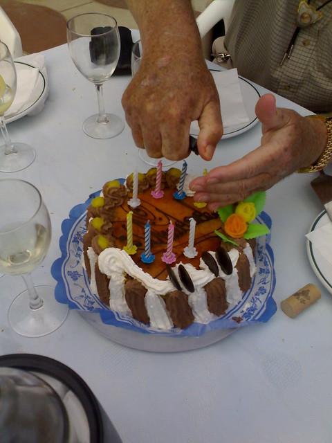 Spanish Birthday Cake