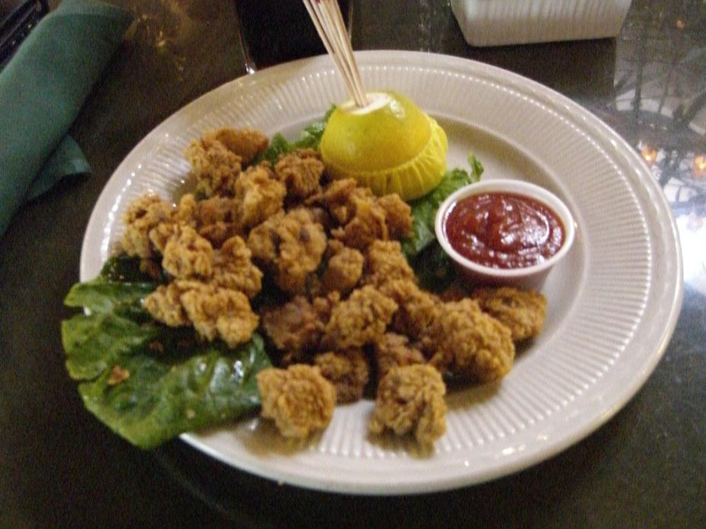Rocky Mountain Oysters!  Mmmmmm!