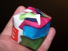 Making An Inflatible Box (My Favorite Origami, This Is For Avid Maxfan & Anne Y)