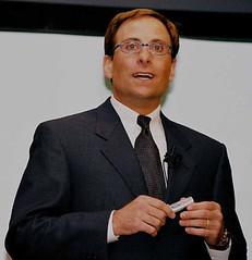 speaker(1.0), white-collar worker(1.0), person(1.0), businessperson(1.0),