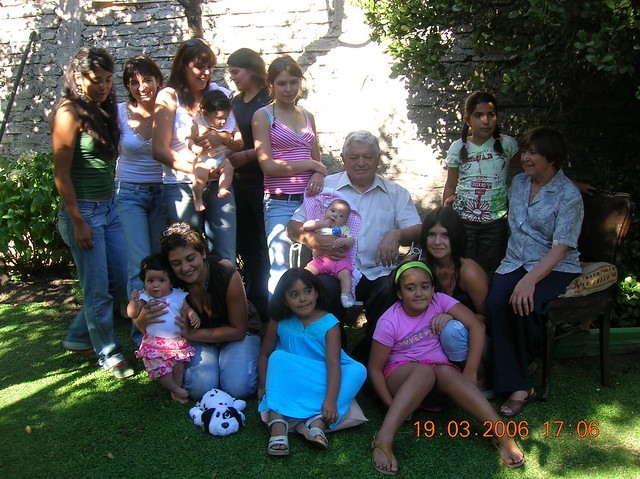 abuelos nietas
