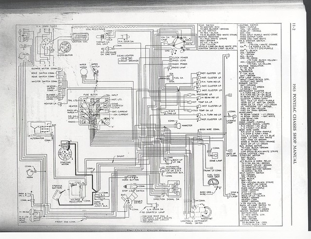 1963 Pontiac - Wiring Diagram