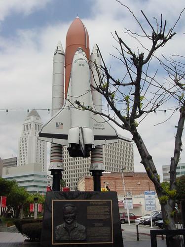 Little Tokyo Challenger Memorial
