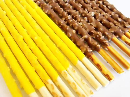 Pine Cream Pocky & Coconut Chocolate Pocky