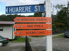 Rotorua Geothermal funny sign