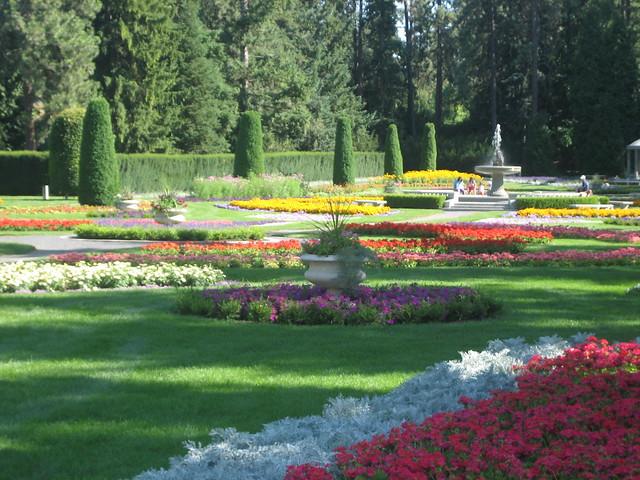 European Garden In Manito Park Spokane Flickr Photo