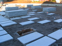 flagstone, landscaping,