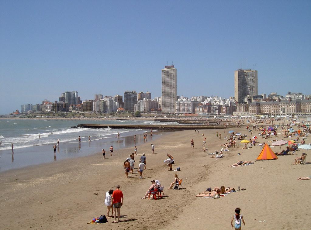 Пляж Мар-дель-Плата