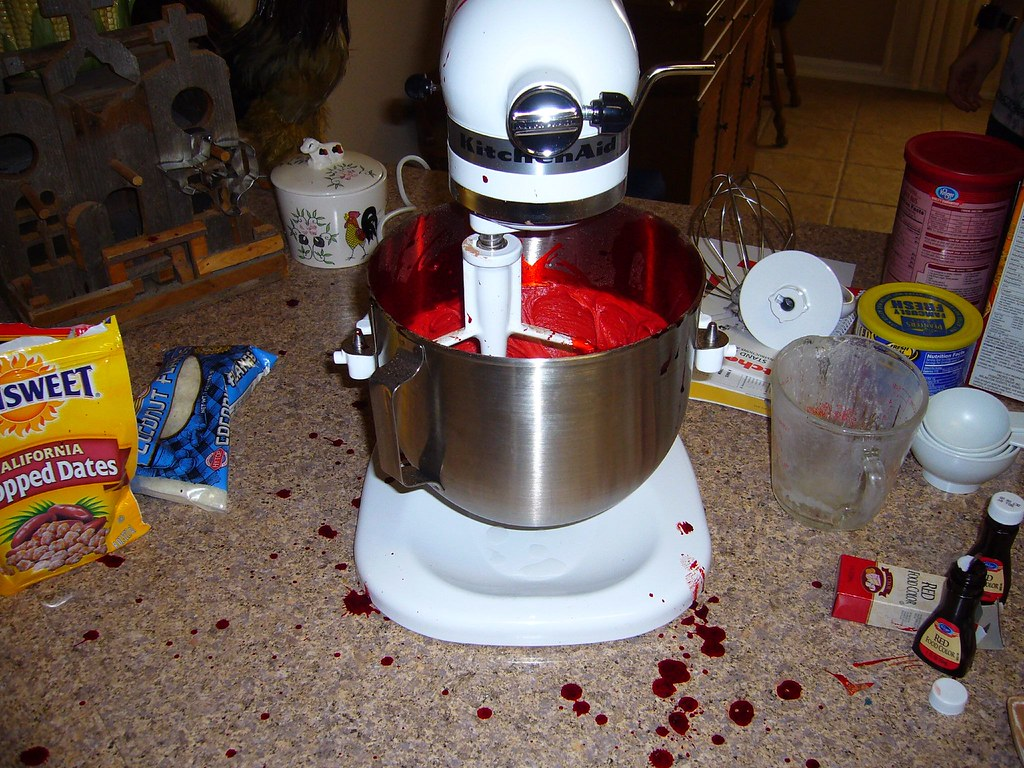 Oops... That Kitchen Aid Goes Really Fast!
