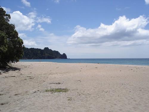 Hot Water Beach.