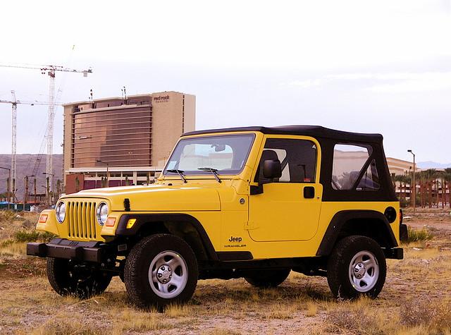 Car Rental Jeep Wrangler Unlimited