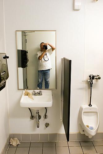 Kmart men's room Hayward