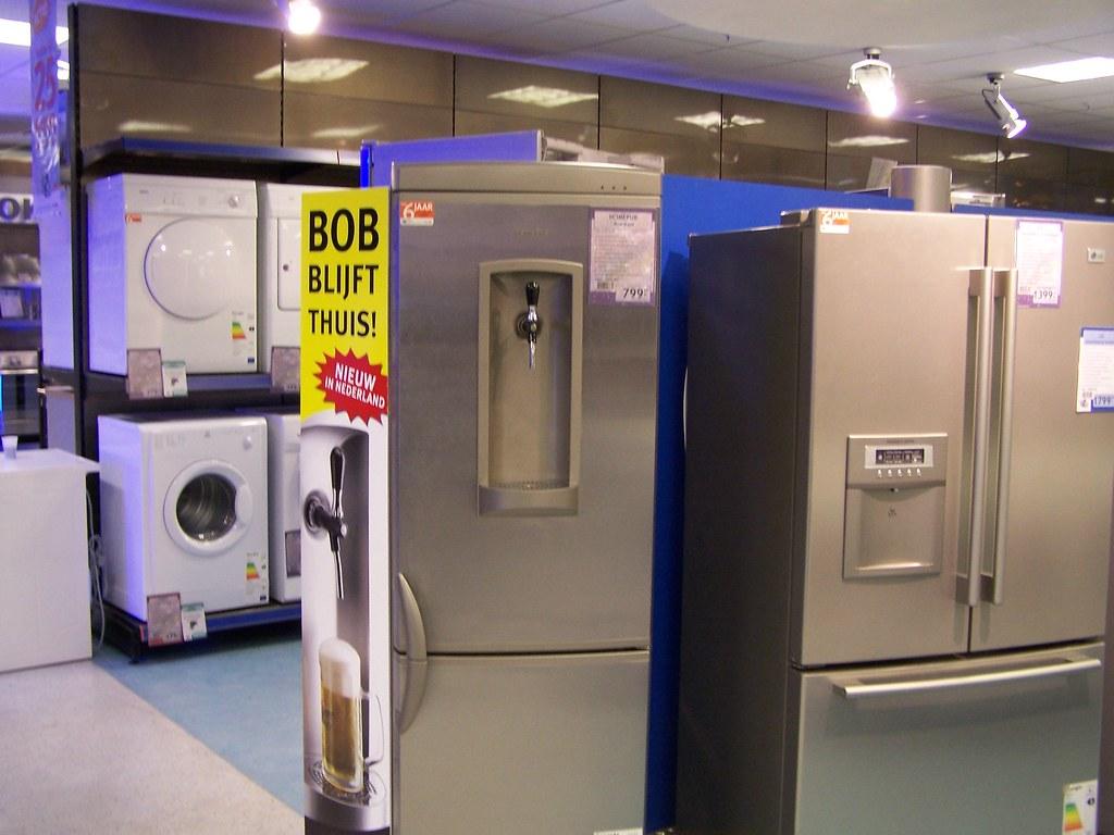 kühlschrank mit zapfanlage