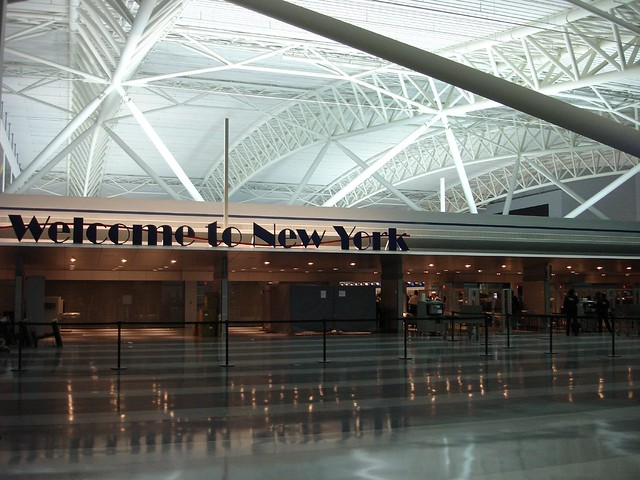 Welcome to New York JFK Airport