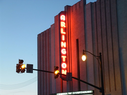 Drafthouse at dusk