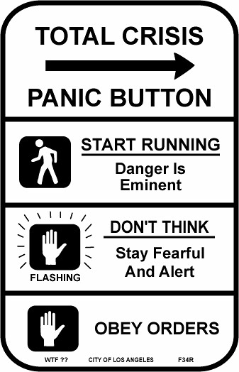 Total Crisis Panic Button from Flickr via Wylio