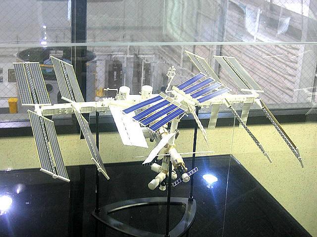 International Space Station model. Johnson Space Center ...