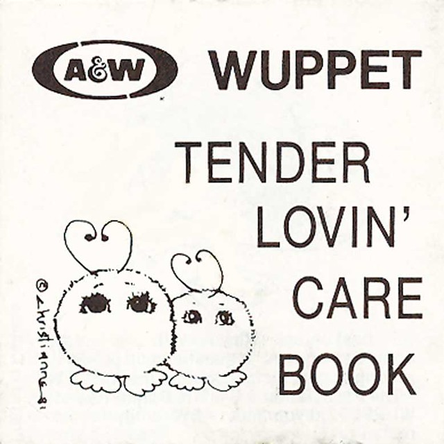 A&W Wuppet Tender Lovin' Care Book