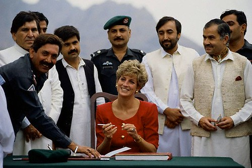 Princess Diana at Torkham