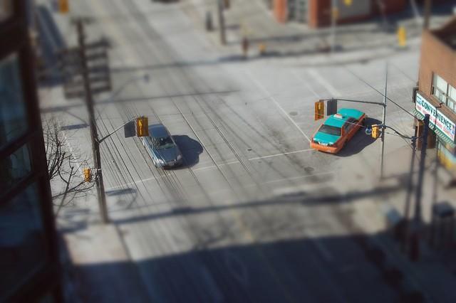 Cars - Tilt Shifted!