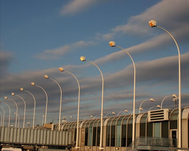 Dusk, United Terminal, Chicago O'Hare