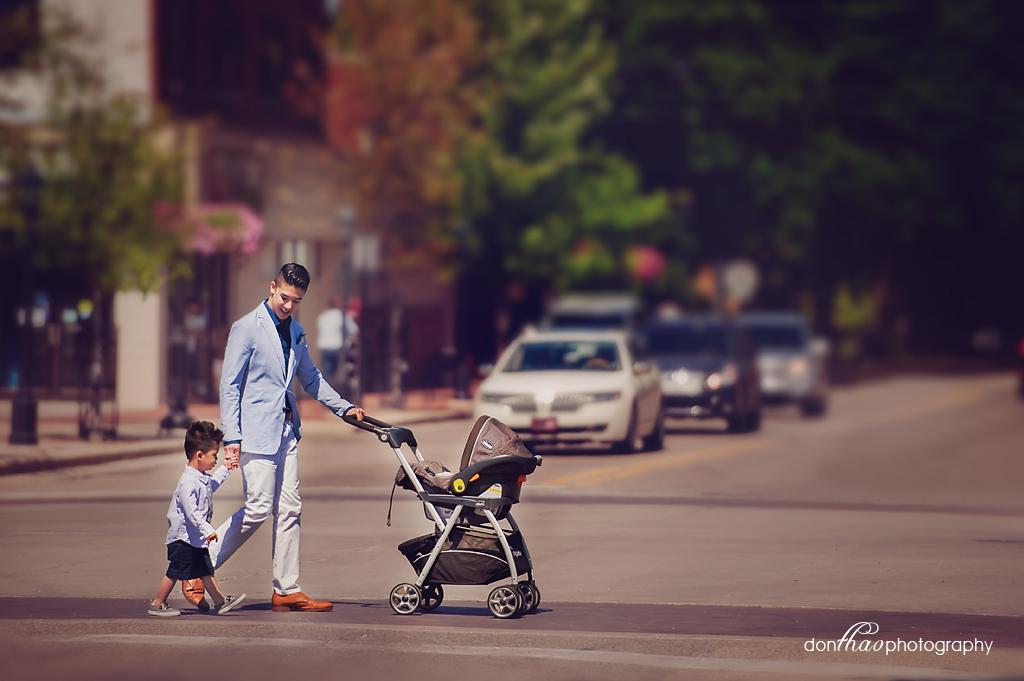Modern, urban dad