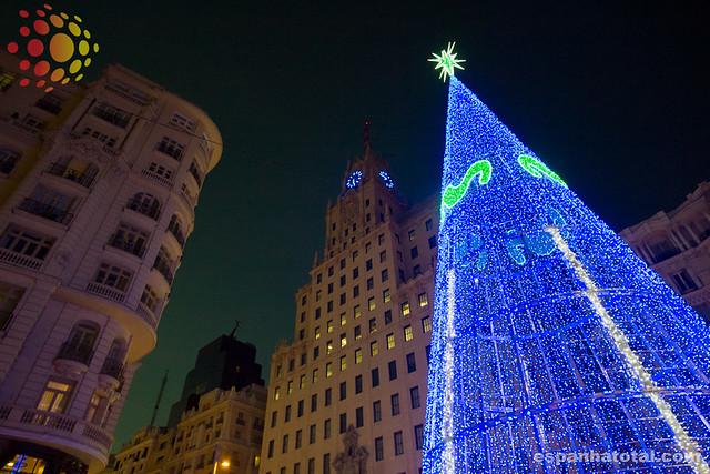 natal e réveillon em Madri