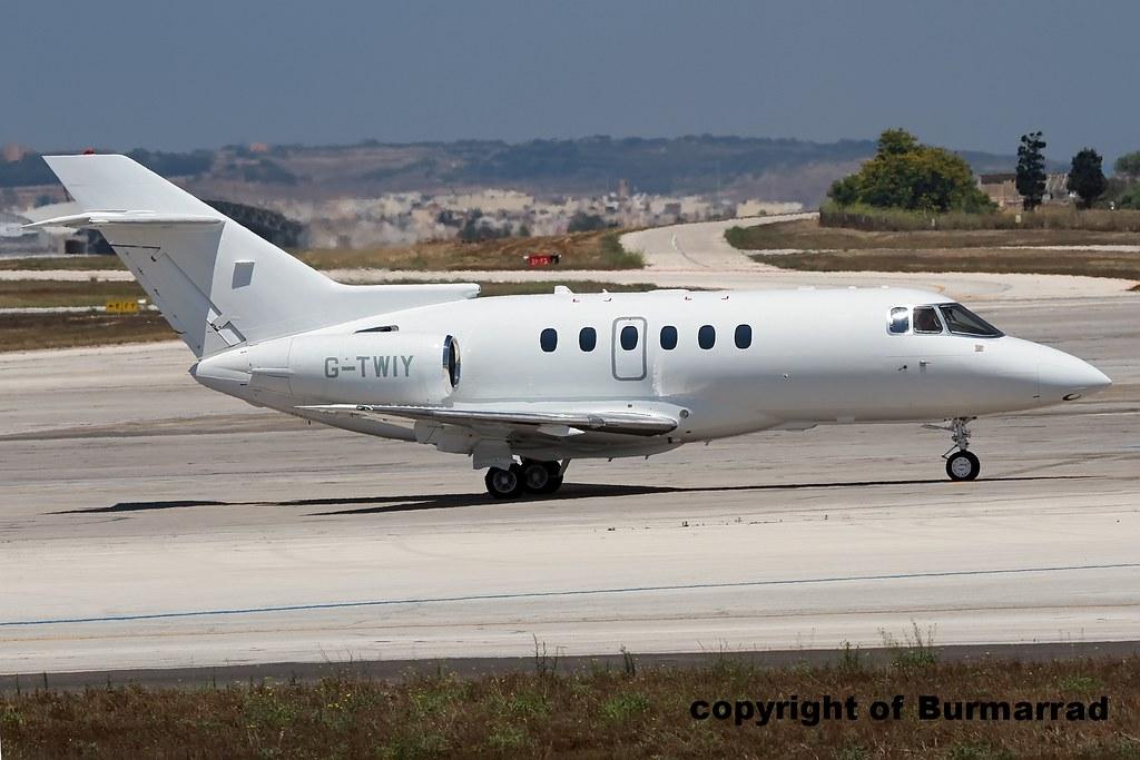 G-TWIY - H25B - SaxonAir