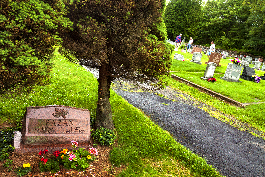 Cemetery behind The Assumption Of The Blessed Virgin Mary--Centralia