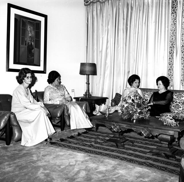 Jantar na Residência Oficial de Águas Claras em 24/01/1975