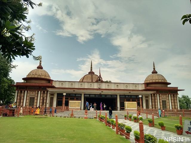A Full View of Maa Durga Mandir